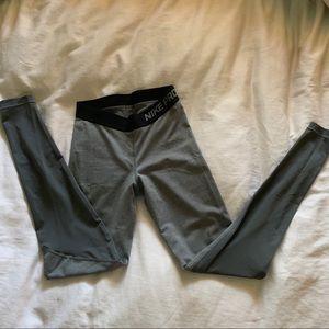 Nike Pro Gray Leggings